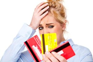 credit card debt from shopping addiction