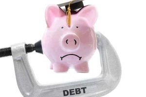 Economic Threat of Student Loan Default - negative impact